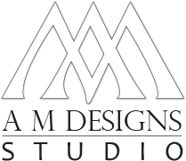 A M Designs Studio Logo